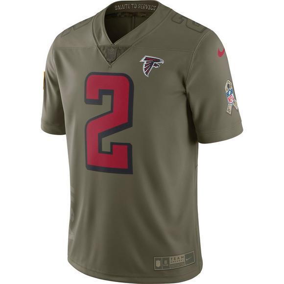 cheap for discount d33a3 48203 Nike Men's Atlanta Falcons Matt Ryan Salute to Service ...