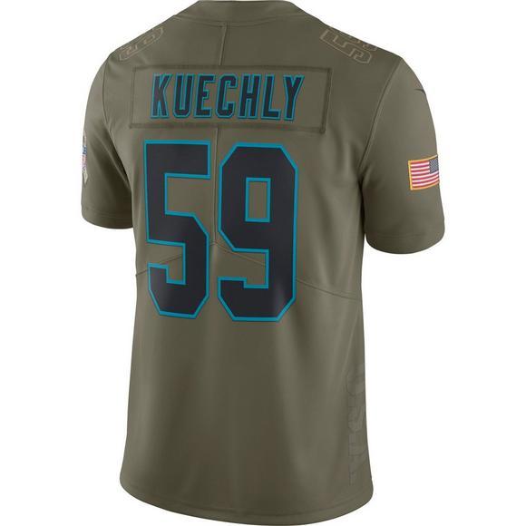 purchase cheap 0f72e ca8cb Nike Men's Carolina Panthers Luke Kuechly Salute to Service ...