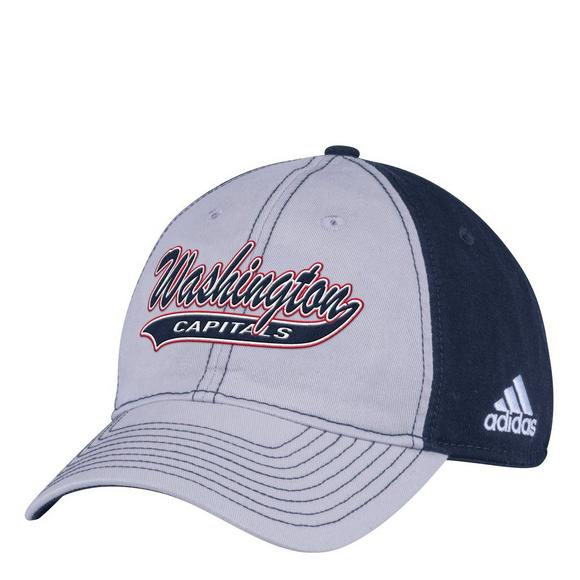 adidas Washington Capitals Script Slouch Adjustable Hat - Main Container  Image 1 6d9dce72f