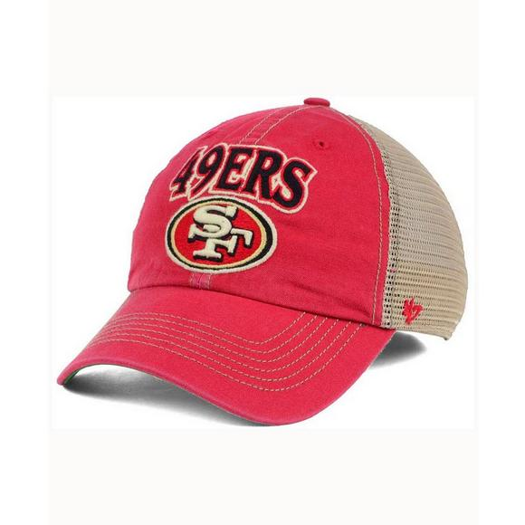 47 Brand Men s San Francisco 49ers Tuscaloosa Clean Up Cap - Main  Container Image 1.   ac100daa2bae