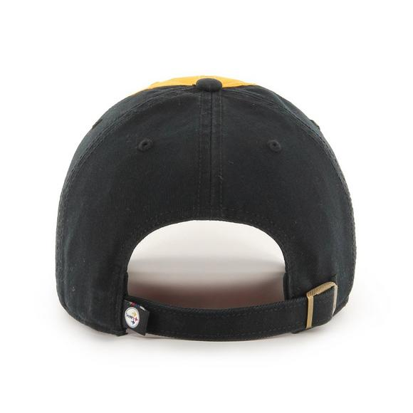 a169e568f4ae1  47 Brand Pittsburgh Steelers McCarthy Clean Up Adjustable Hat - Main  Container Image 2.
