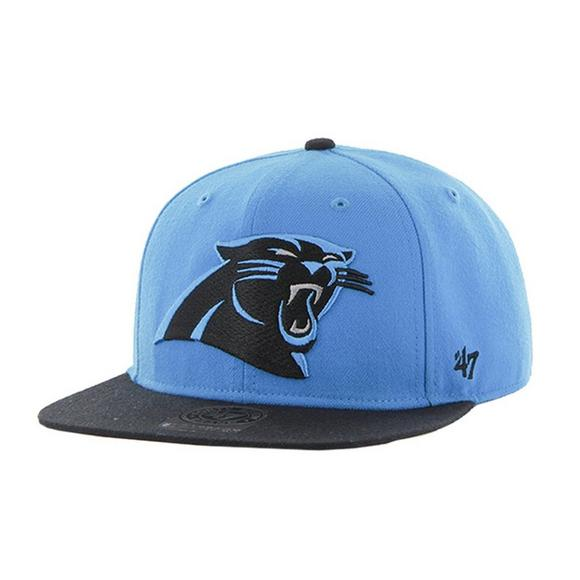 36ecc2e62 '47 Brand Carolina Panthers Men's Two-Toned Super Shot Snapback Hat - Main  Container. '