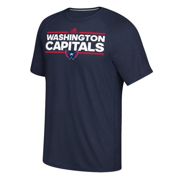 7cfa8594ab6 adidas Men s Washington Capitals Dassler T-Shirt - Main Container Image 1