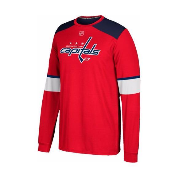 pretty nice 415ca 3769e adidas Men's Washington Capitals Jersey T-Shirt - Hibbett ...