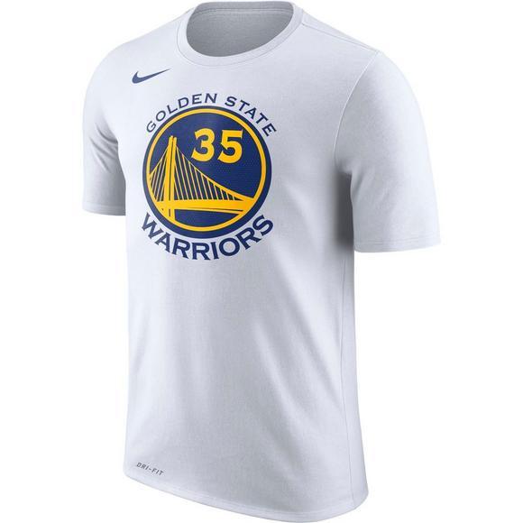 online store 9b3fc 8ac95 Nike Men's K. Durant Golden State Warriors White T-Shirt ...