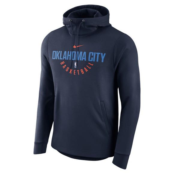 2945d0d8 Nike Youth Oklahoma City Thunder NBA Practice Hoodie - Main Container Image  1