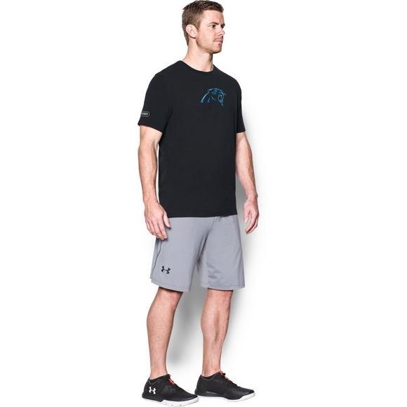Under Armour Men s Carolina Panthers NFL Combine Authentic Logo T-Shirt -  Main Container Image fb1abd842
