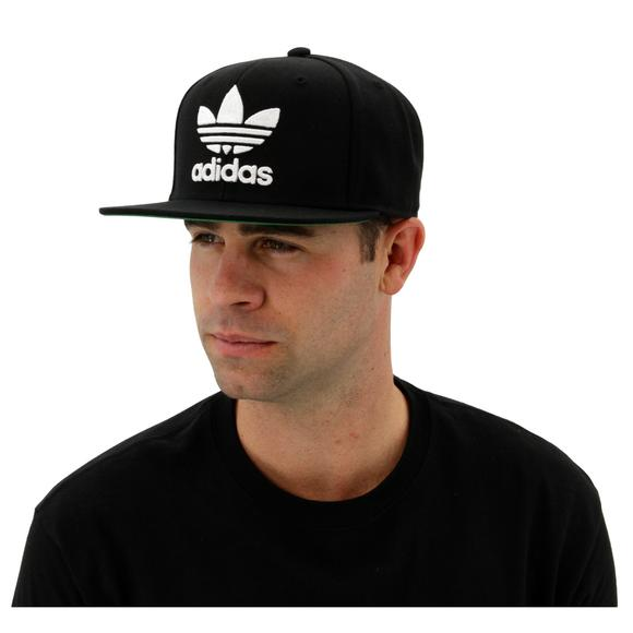 1bf24d27ab081 adidas Originals Trefoil Chain Snapback - Black White - Main Container  Image 4