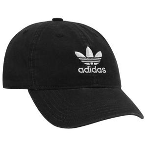 bfec2911767 adidas Originals Washed Relaxed Strapback - Black White