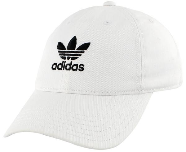 b29e2603a68 Display product reviews for adidas Originals Washed Relaxed Strapback -  White Black