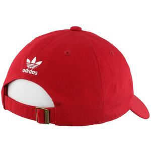 9bc0d88bd0f adidas Originals Washed Relaxed Strapback - Red