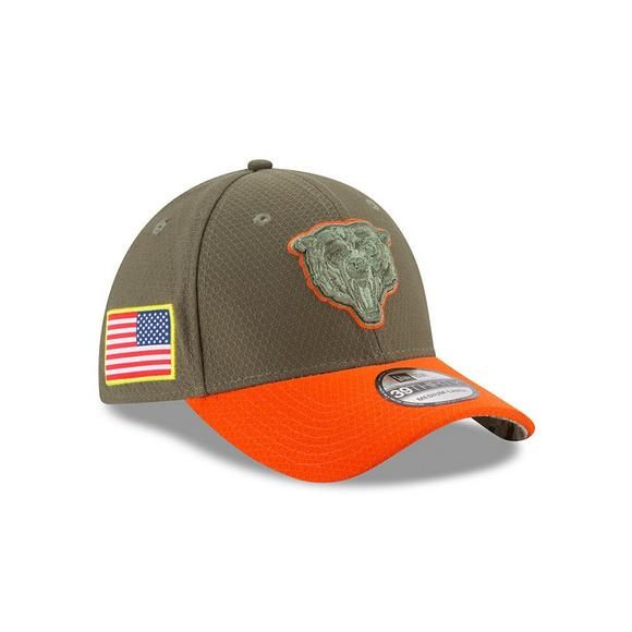 0f14569c90e New Era Chicago Bears Salute to Service Stretch Fit Hat - Main Container  Image 2