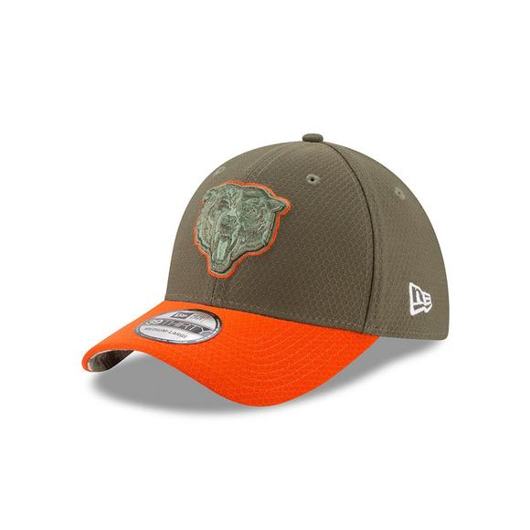 87cf5d27c4e New Era Chicago Bears Salute to Service Stretch Fit Hat - Main Container  Image 1