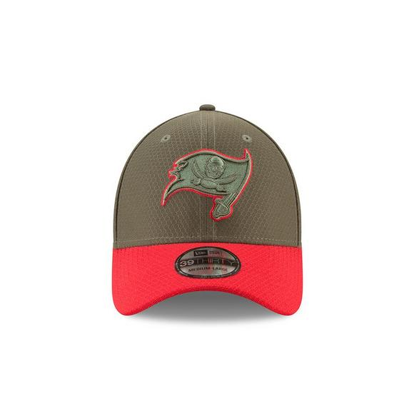 New Era Tampa Bay Buccaneers Salute to Service Stretch Fit Hat - Main  Container Image 1 39655c9dfb2
