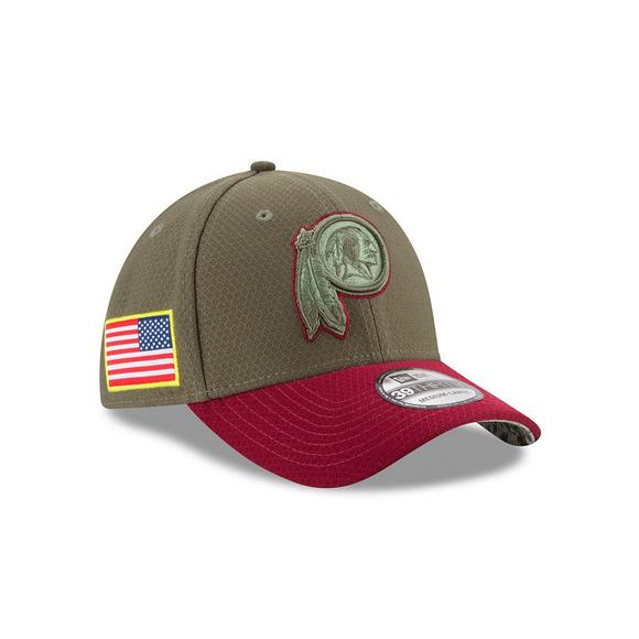 best sneakers f0ad0 e91c5 New Era Washington Redskins Salute to Service Stretch Fit Hat