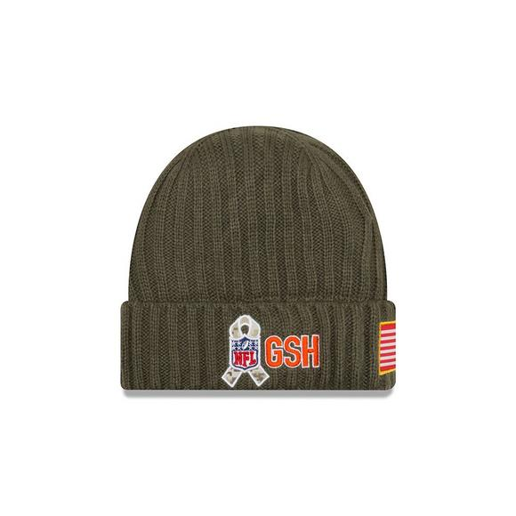 1aef2a995168 New Era Chicago Bears Salute to Service Knit Beanie - Main Container Image 2