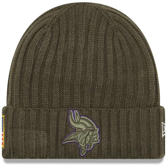 ... coupon code for new era minnesota vikings salute to service cuffed knit  hat main container image 243c2d45f