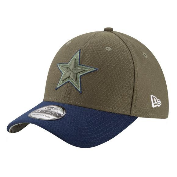 100% authentic 372e0 89751 New Era Dallas Cowboys Salute to Service on Field 39THIRTY ...
