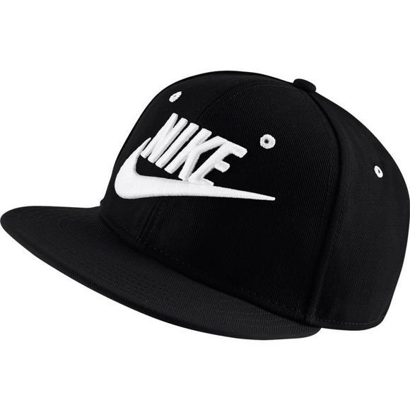 990c6181 Nike Futura True Kids' Adjustable Hat - Black/White - Main Container Image 1