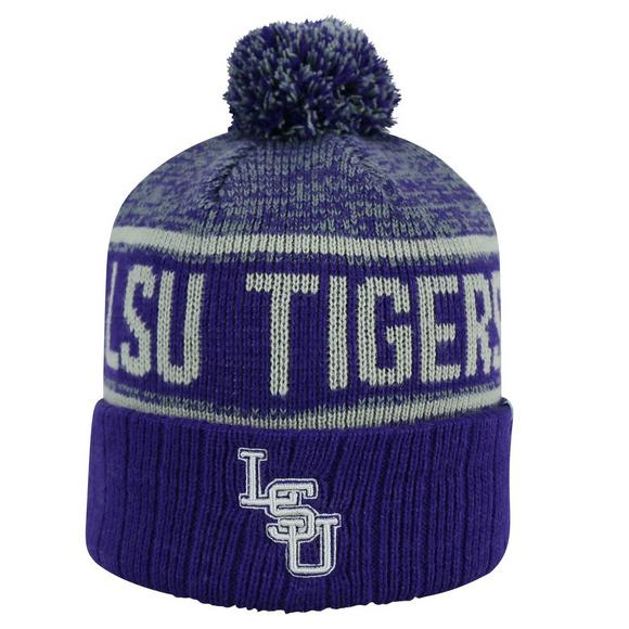 Top of the World LSU Tigers Acid Rain Knit Hat - Main Container Image 1 17628b9ef5c