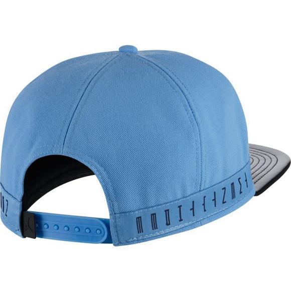 c450e619e89 Jordan 11 Light Blue/Navy Snapback Hat - Main Container Image 2