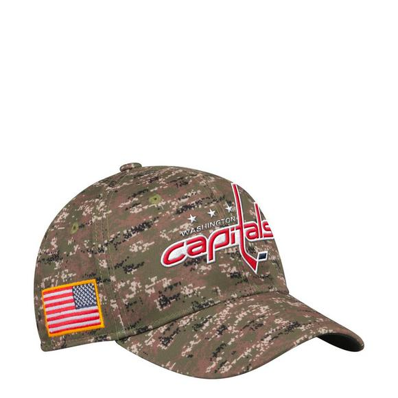 adidas Washington Capitals USA Camo Flex Hat - Main Container Image 1 f40bac6609a