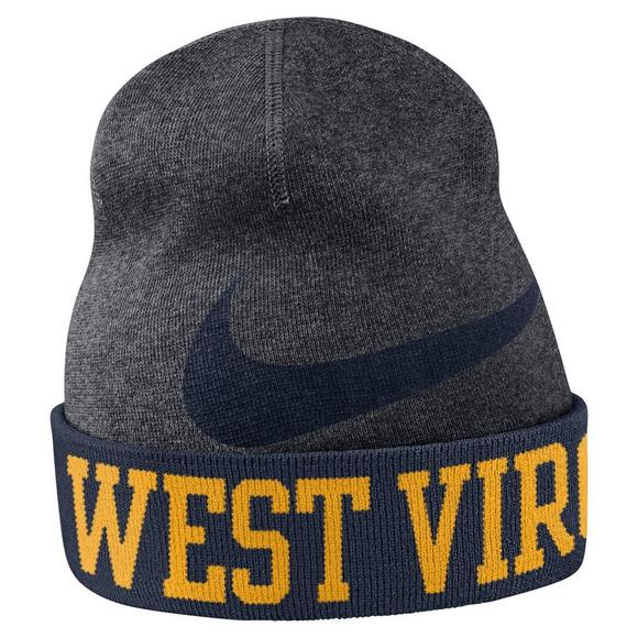 8a22d004af9 Nike West Virginia Mountaineers Beanie Training Knit Hat - Main Container  Image 1