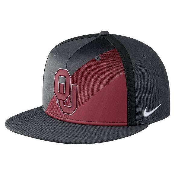 9856b7dc84485c Nike Oklahoma Sooners True Champ Snapback Hat - Main Container Image 1