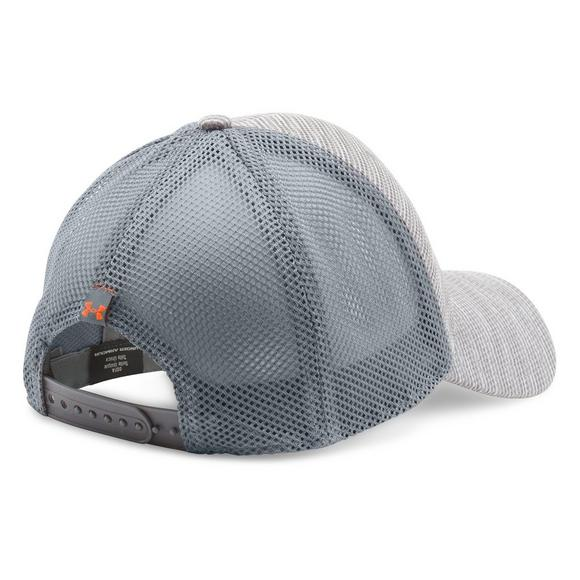 c351ccb2 Under Armour Men's Blitzing Trucker Hat - Main Container Image 2