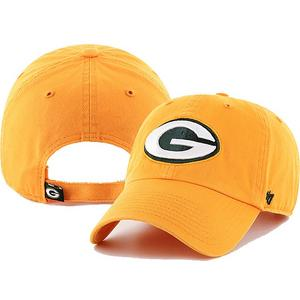 size 40 d2cce fedc4 ... norway 47 brand green bay packers clean up adjustable strap hat f5278  3516e