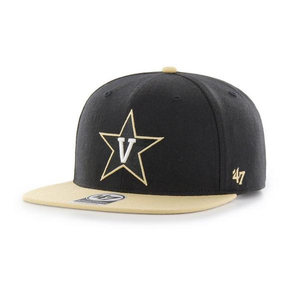 bf466f5537566f '47 Brand Clean Up Vanderbilt Commodores Adjustable Hat - Main Container  Image 1. '