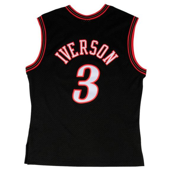 hot sale online 15986 4b81f Mitchell   Ness Men s Philadelphia 76ers Allen Iverson  00 Swingman Jersey  - Main Container Image