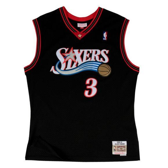 572d3c74 Mitchell & Ness Men's Philadelphia 76ers Allen Iverson '00 Swingman Jersey  - Main Container Image