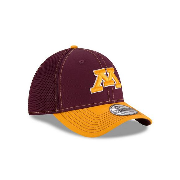 New Era Minnesota Golden Gophers 2Tone Neo 39THIRTY Stretch Fit Hat - Main  Container Image 2 1892e0bf5592