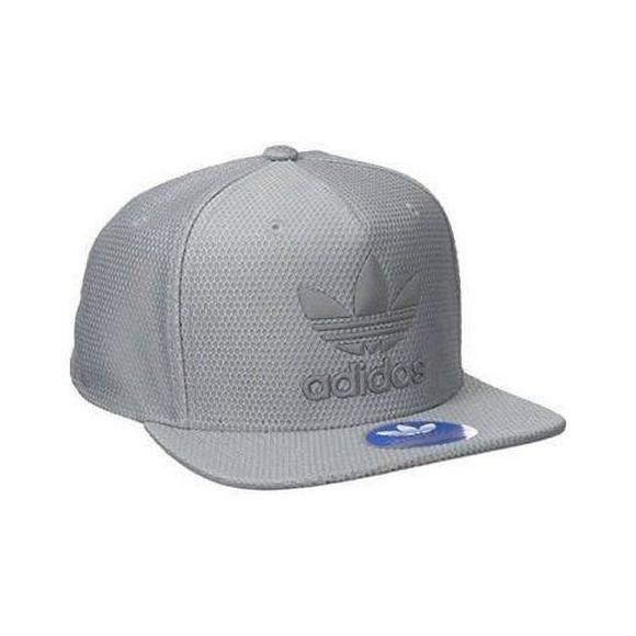 fb0877df21c adidas Men s Originals Trefoil Reflective Snapback Hat - Main Container  Image 1