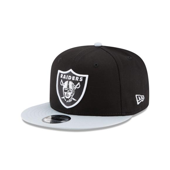 79539b085c9 New Era Oakland Raiders NFL Snapback Cap - Main Container Image 1