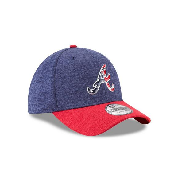 New Era Men s Atlanta Braves Stars   Stripes  17 39THIRTY Flex Hat - Main  Container 405c5a89bc2e