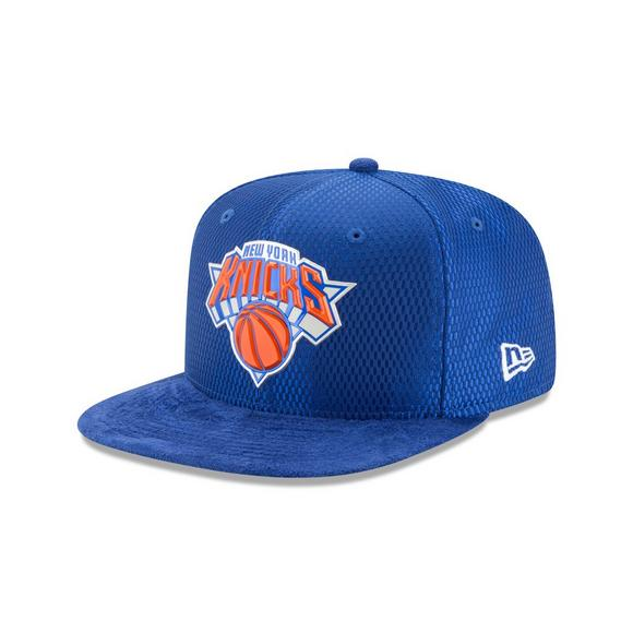6f92e683 New York Knicks New Era 2017 NBA Draft Official On Court Collection 59FIFTY  Fitted Hat -