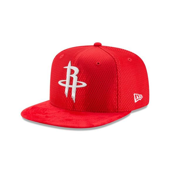 9ca3b4dd New Era Houston Rockets NBA Draft Official On Court Collection 59FIFTY  Fitted Hat - Main Container