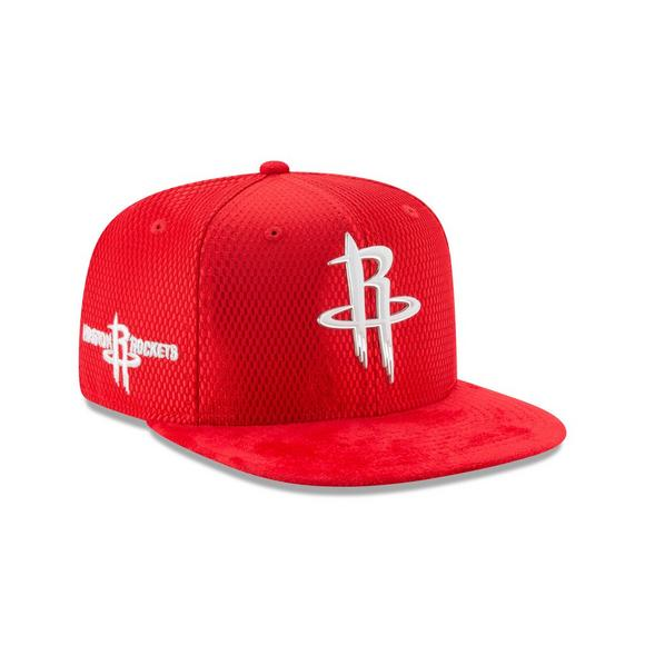 separation shoes d4565 12321 New Era Houston Rockets NBA Draft Official On Court Collection 59FIFTY  Fitted Hat - Main Container