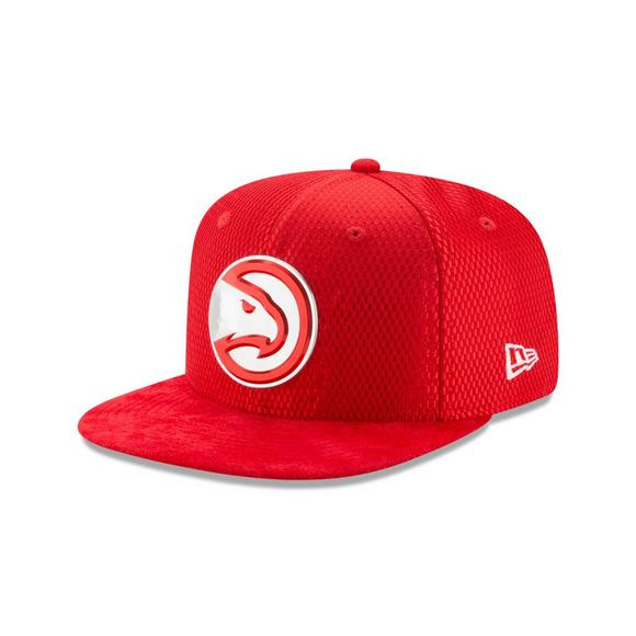 online store 6c9d3 0a996 New Era Atlanta Hawks 59FIFTY 2017 NBA Draft Official On Court Collection  Fitted Hat - Main