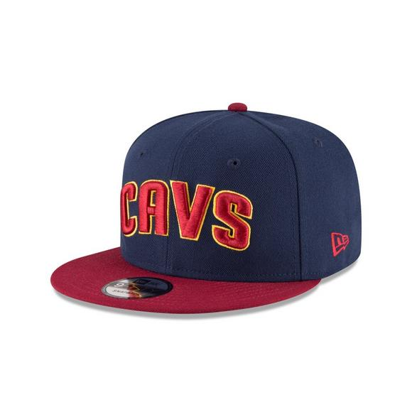 1334175893c New Era Cleveland Cavaliers 9FIFTY 2Tone Snapback Hat - Main Container  Image 1