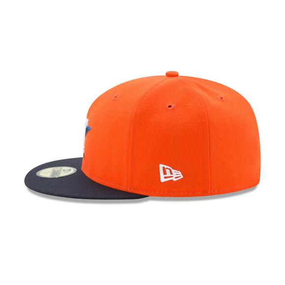 big sale 3b30c 02582 New Era Houston Astros Fitted Hat - Main Container Image 3