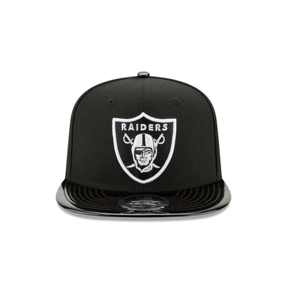 New Era Oakland Raiders 9Fifty Snapback Hat - Main Container Image 2 be2d78ec1