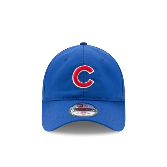 642471157e0 New Era Chicago Cubs Perf Pivot 2 9TWENTY Adjustable Running Cap - Main  Container Image 1