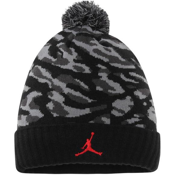 Jordan s Men s Pom Beanie Hat - Main Container ... 0f8a71ea733