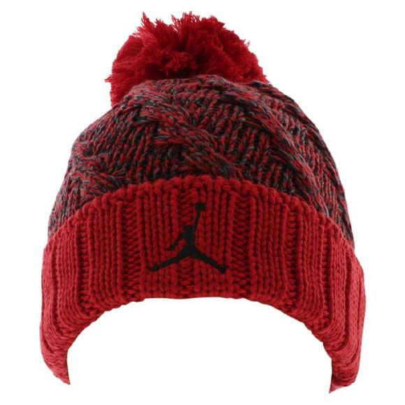 21756e046 ... new zealand nike jordan mens jumpman cable beanie hat main container  image 1 0cdc4 9123f