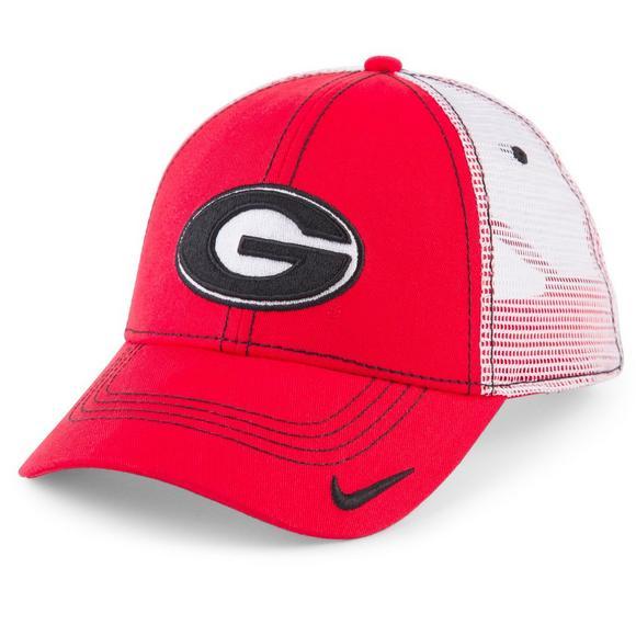 Nike Men s Georgia Bulldogs Adjustable Mesh Hat - Main Container Image 1 f80458e7d33