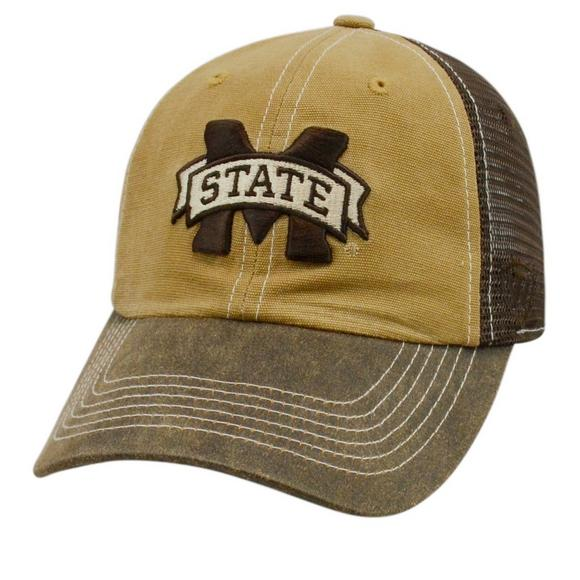 online store 3e251 feae3 Top of the World Incognito Mississippi State Bulldogs Adjustable Mesh Hat -  Main Container Image 1