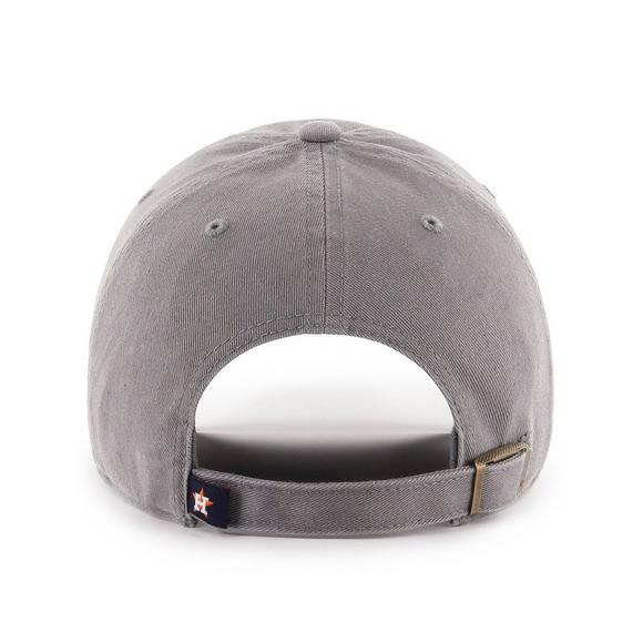 5234bc410a7008 '47 Brand Men's Houston Astros Clean Up Adjustable Hat - Main Container  Image 2. '